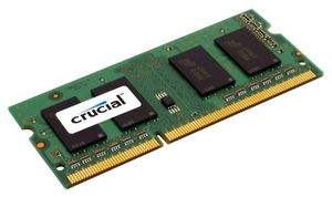 CRUCIAL Memory DDR3 16GB KIT PC12800
