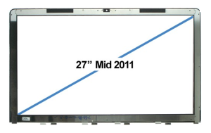 Glass Frame iMac 27 inch  2010-2012