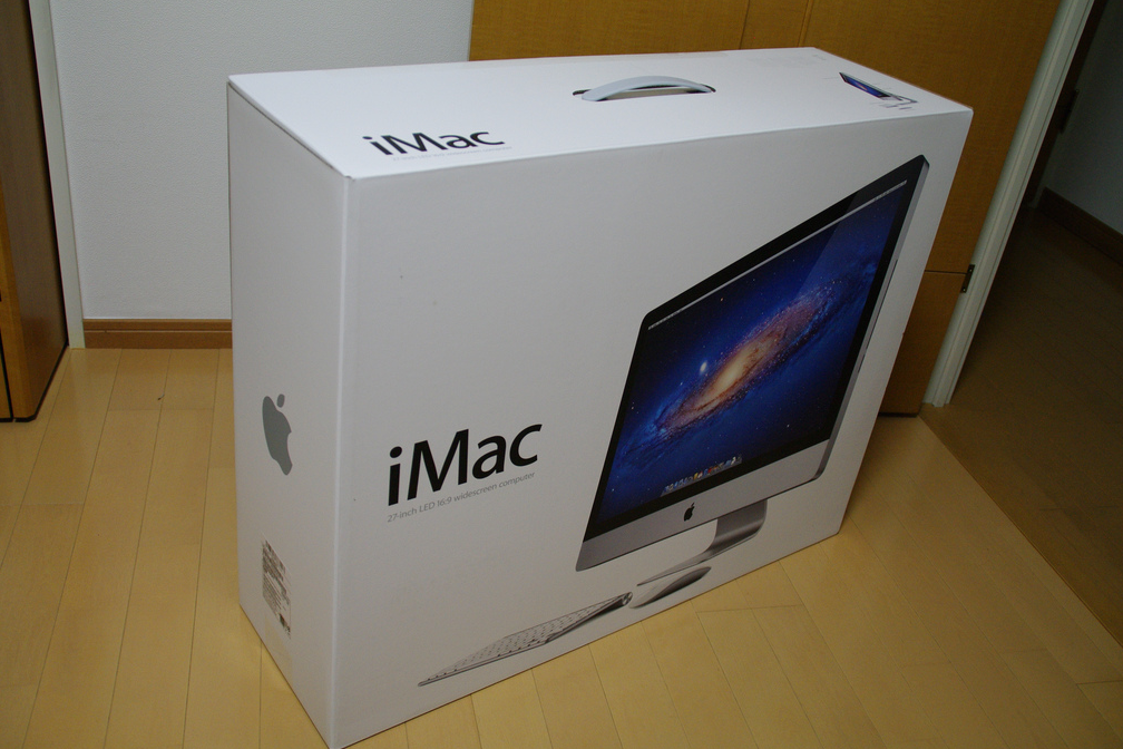 JUAL iMac Second 21 inch HDD 1 Terra MC812
