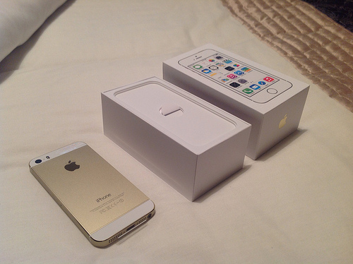 JUAL New iPhone 5S 16GB GOLD Harga Termurah ┃ Warung Mac dea1227bc8