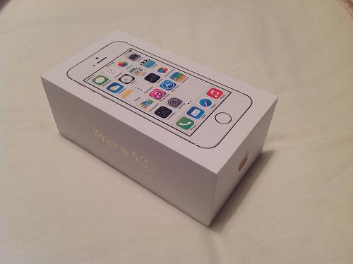 JUAL New iPhone 5S 16GB GOLD Harga Termurah